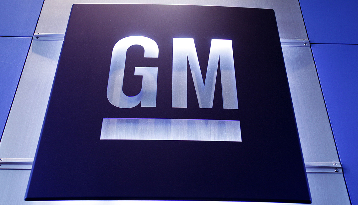 A logo for General Motors