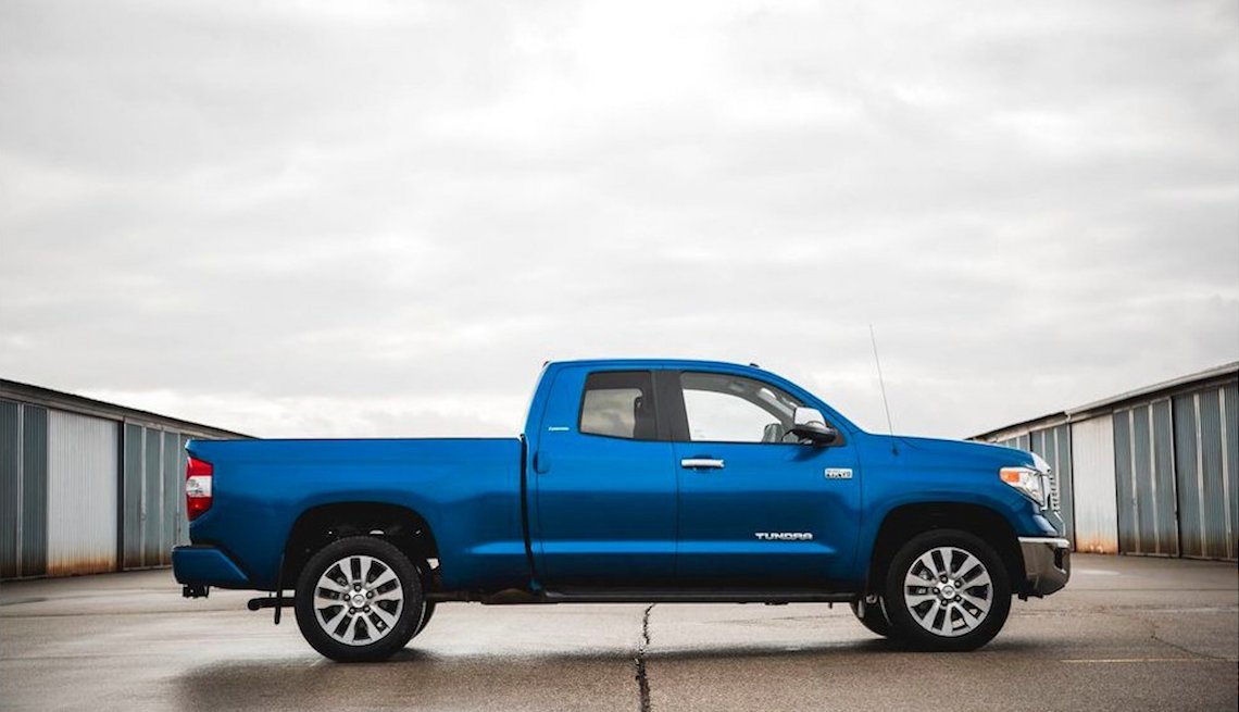 item 10 of Gallery image - blue Toyota Tundra