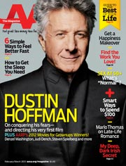 Dustin Hoffman Feb/Mar 2013 Cover