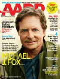 Michael J Fox April Cover