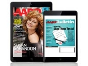 iPad and iPad Mini featuring AARP Magazine and Bulletin issues (Mike Morgan)