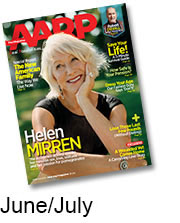 helen mirren june july aarp magazine cover 2014