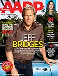 AARP the Magazine August/September cover of Jeff Bridges