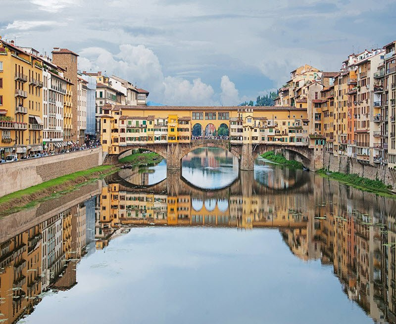View of Bridge in Florence