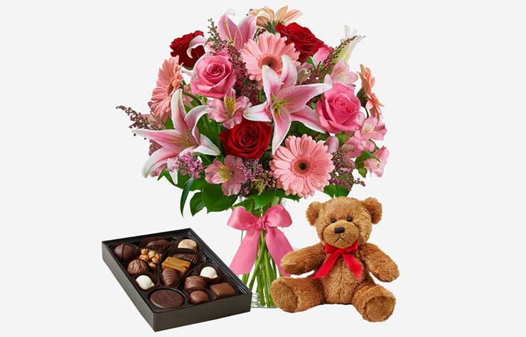 Member Benefits Discounts 1-800-Flowers Bouquet Chocolates Teddy Bear Valentines