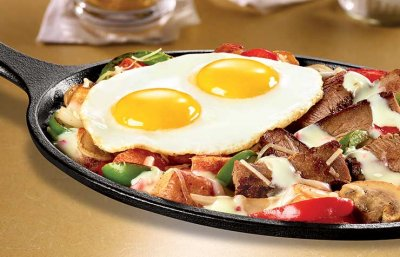 Denny's Philly Cheesesteak Eggs Skillet Member Discount