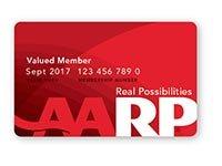 AARP Real Possibilities Tarjeta de membresía