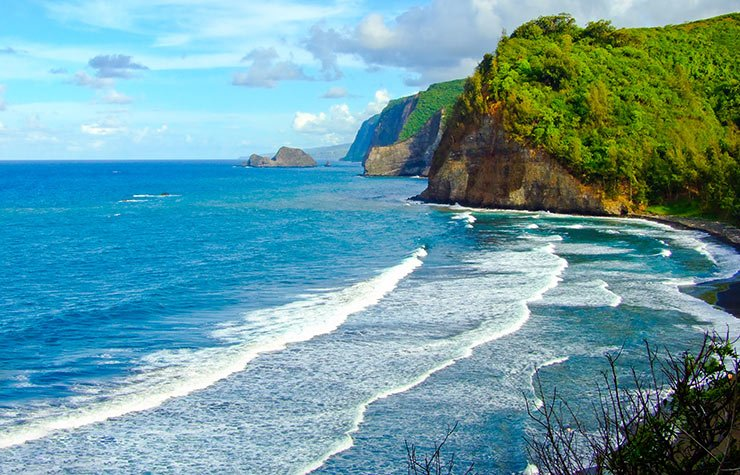 Pololu Valley in Big Island, Hawaii