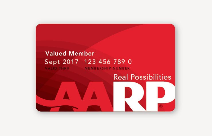 AARP Real Possibilities card