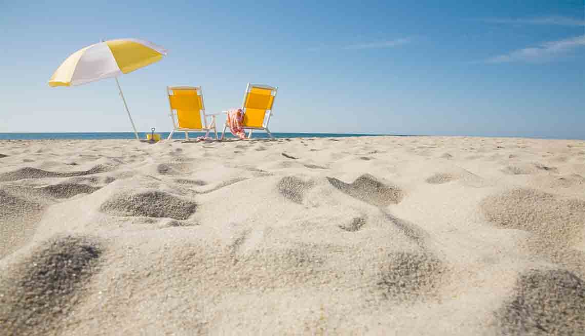 Umbrella and Chairs on the Beach, Member Benefits