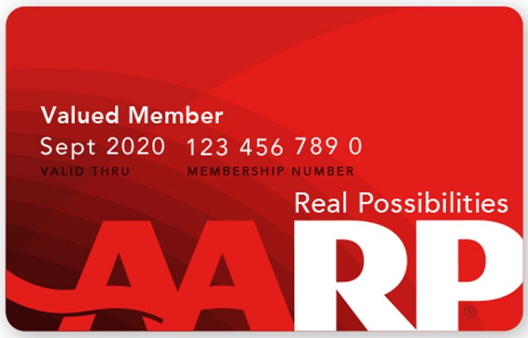 AARP Memebership Card
