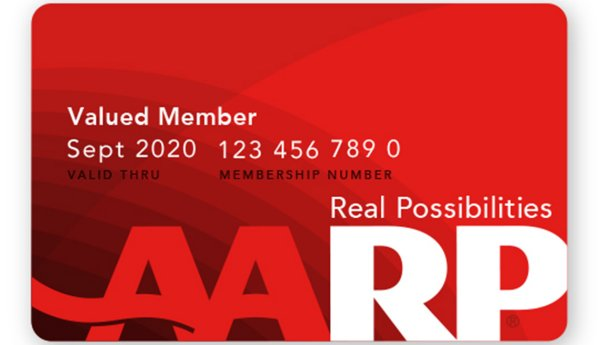 Image result for aarp card images