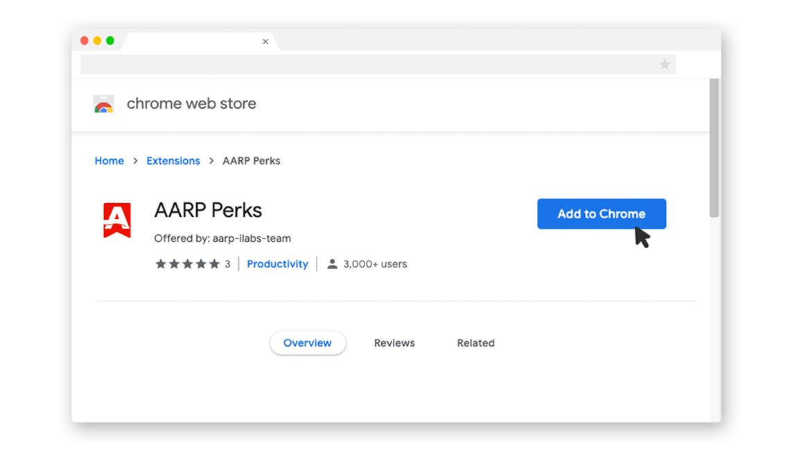step 1 chrome web store perks interface