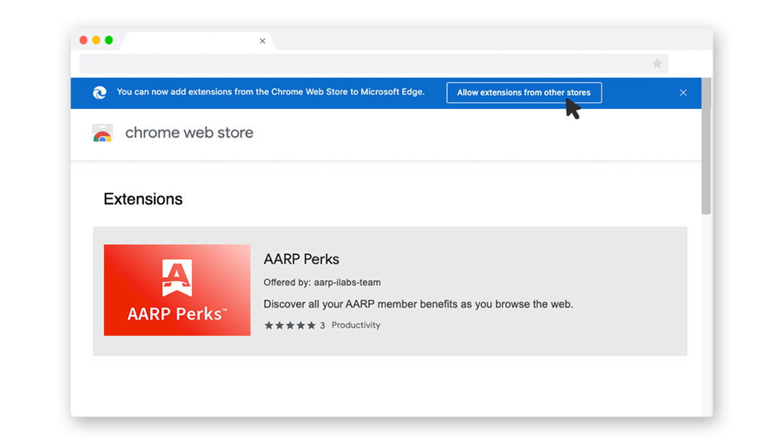 step 1 perks browser extension for microsoft  edge
