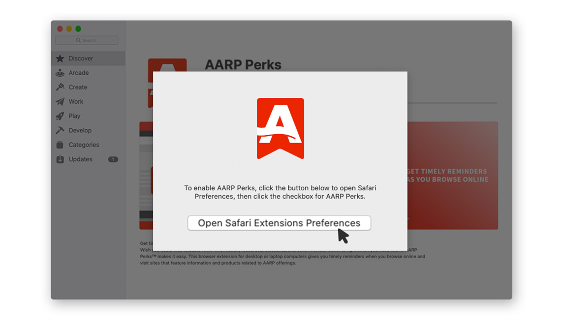 step 2 open safari extension preferences