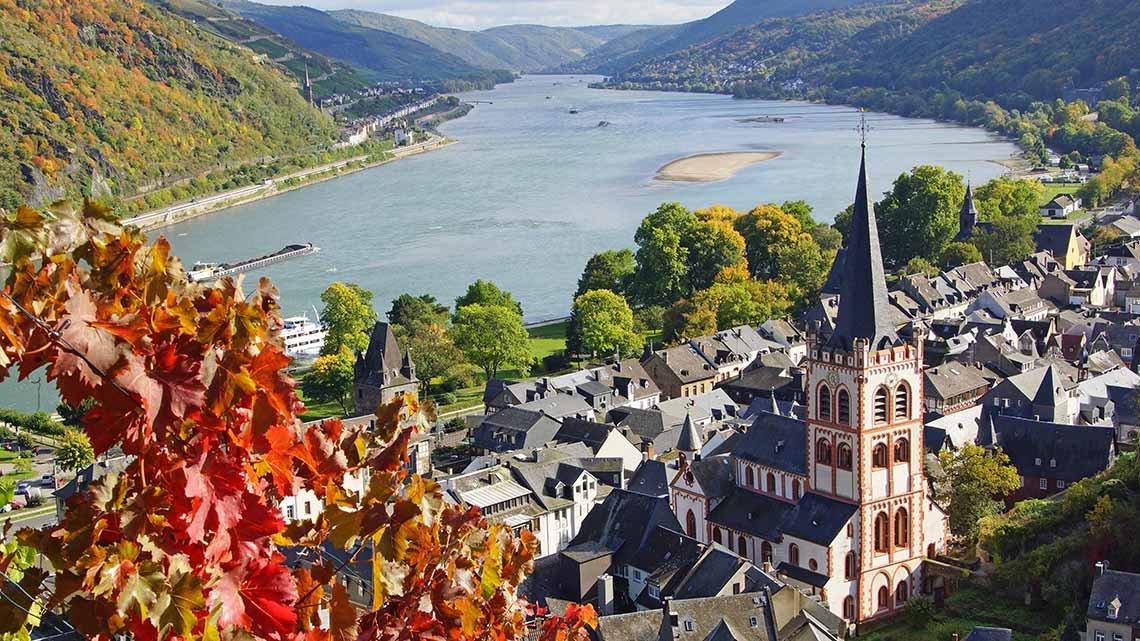 Grand European Travel Castles on Rhine