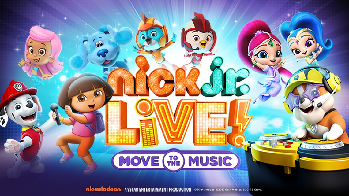 Nick Jr Live Tickets