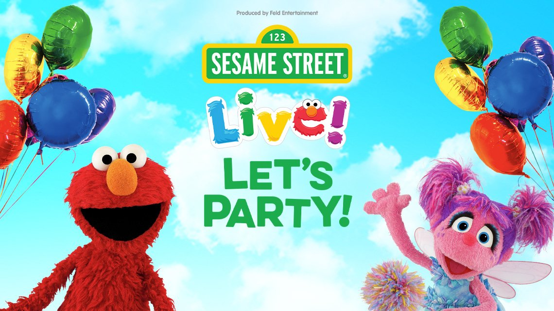 Seasame St Live Let's Party