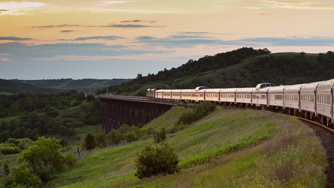 Coast to Coast Train Vacations