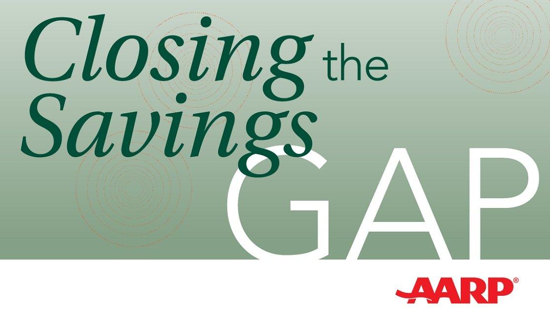 closing the savings gap podcast logo image