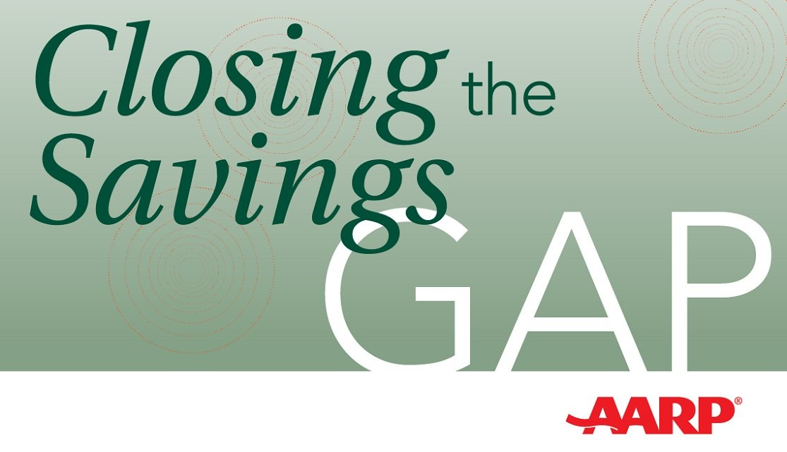 closing the savings gap podcast logo image