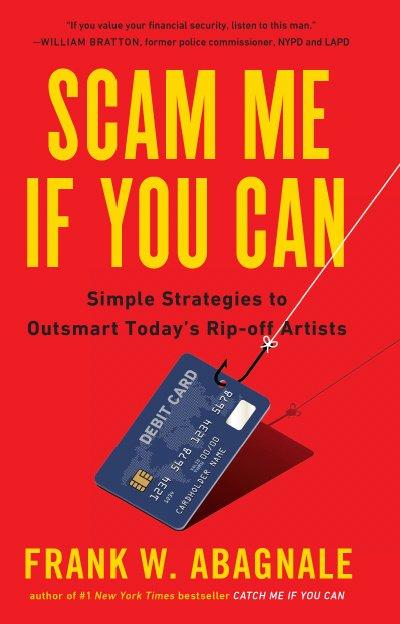 Portada del libro Scam Me If You Can, — Estáfame si puedes—
