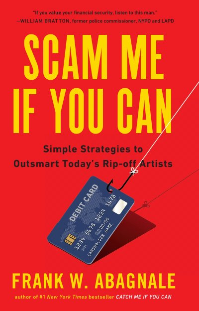 Portada del libro Scam Me If You Can, — Estáfame si puedes—