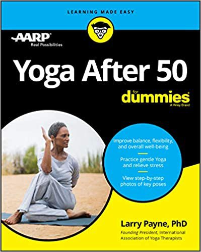 Yoga After 50 for Dummies book cover