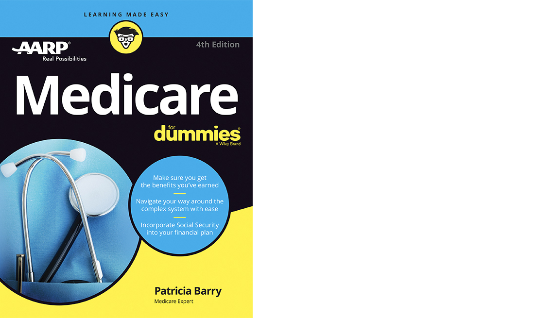 Medicare for Dummies book cover