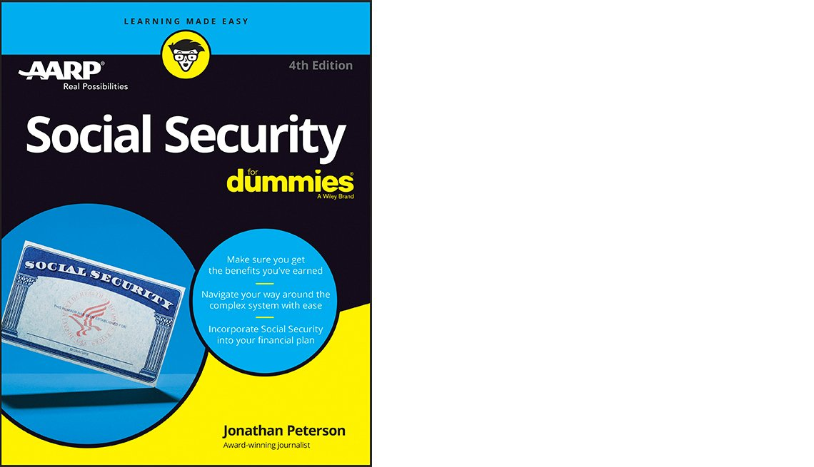 Social Security for Dummies book cover