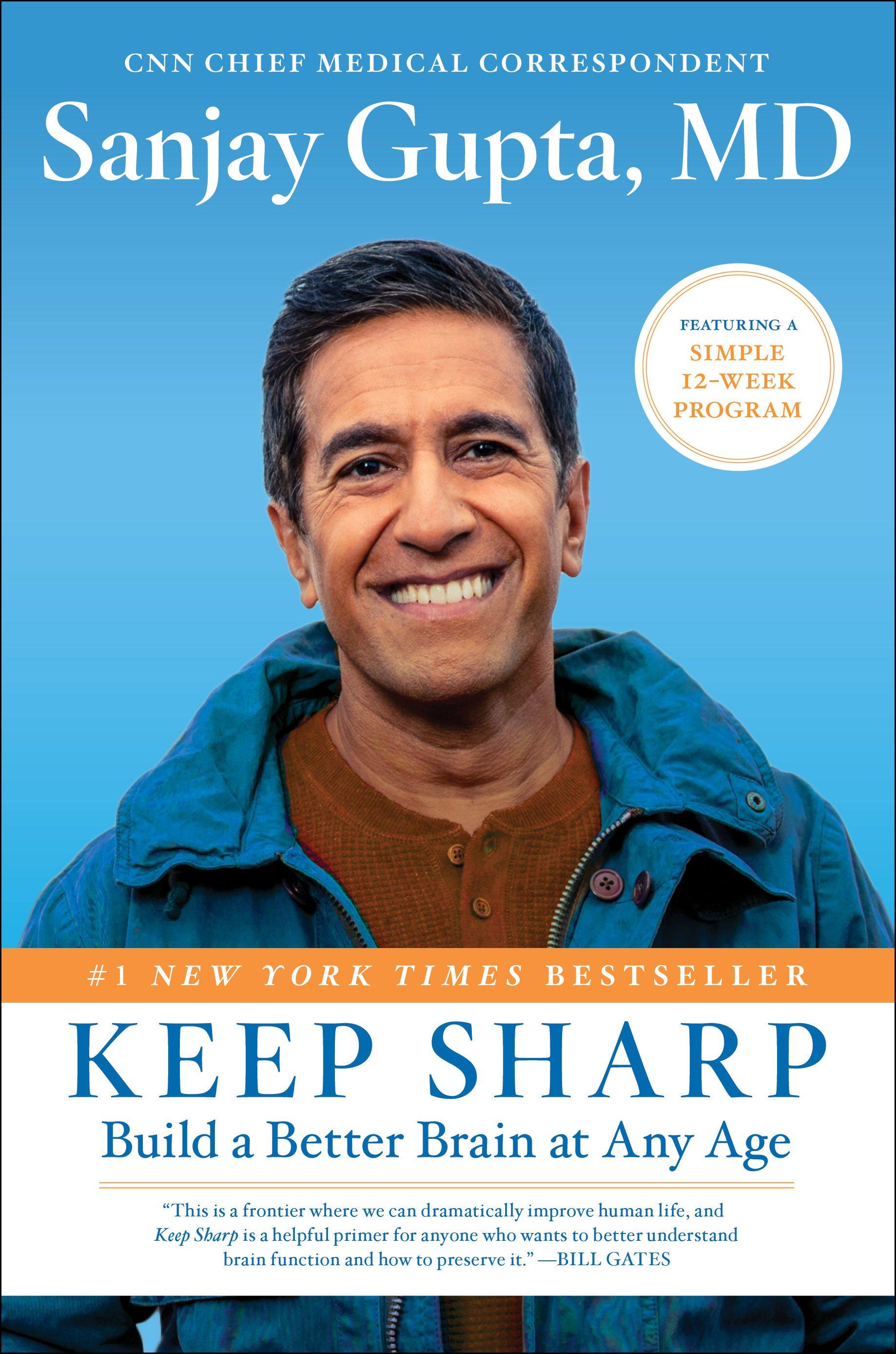 Sanjay Gupta, MD's Keep Sharp book cover