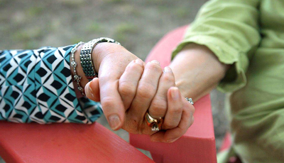 Holding Hands, Giving Comfort, Genentech November 2017