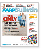 AARP Bulletin January-February 2012 cover