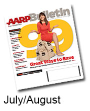 July August Bulletin cover AARP 2014 Chatzky