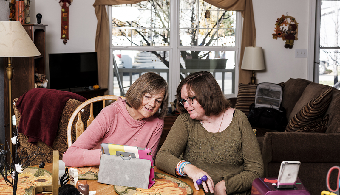 Alice Brouhard And Kara Brouhard, Family Caregiving Roles