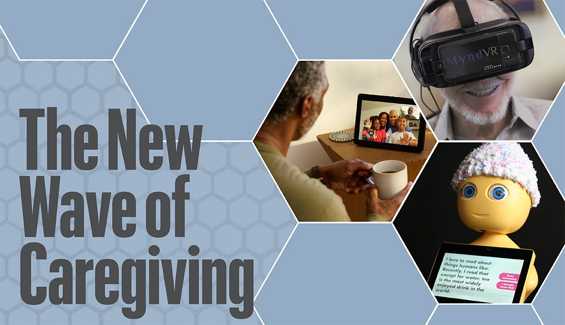 Caregiving technology banner