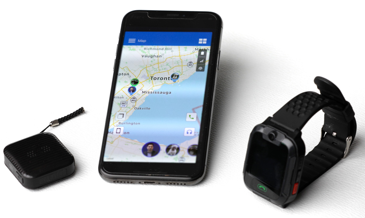 Locate Watch with phone and tracker