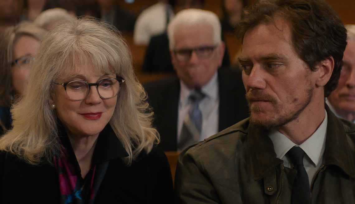 Blythe Danner and Michael Shannon in What They Had