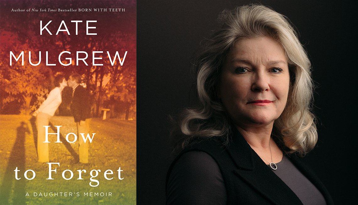 'How to Forget: A Daughter's Memoir' book cover and author Kate Mulgrew
