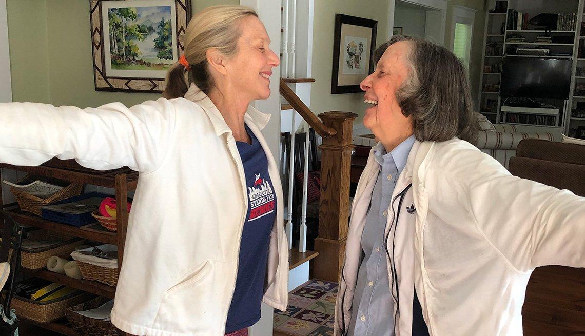 Lee Woodruff  y su mamá