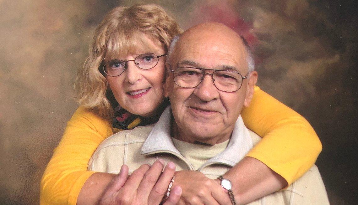 Phyllis y Bill Scantland
