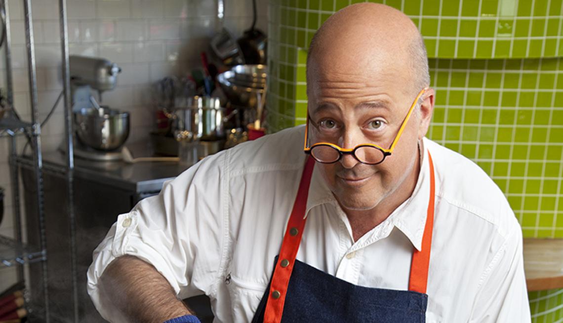 El chef Andrew Zimmern