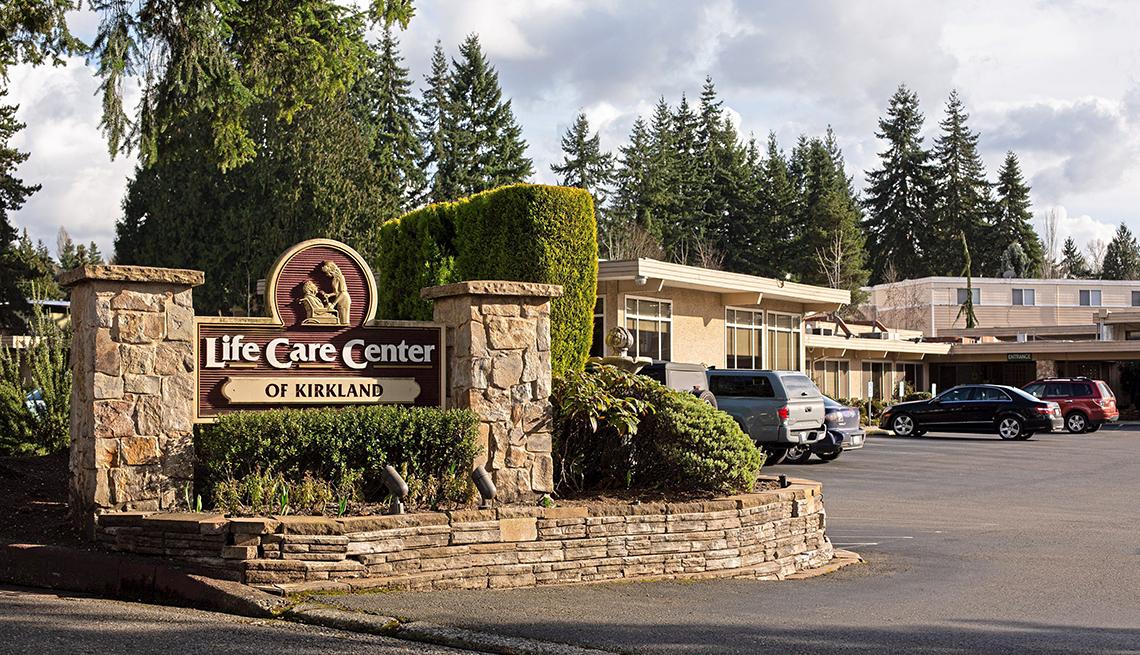 El centro Life Care Center of Kirkland en Washington.