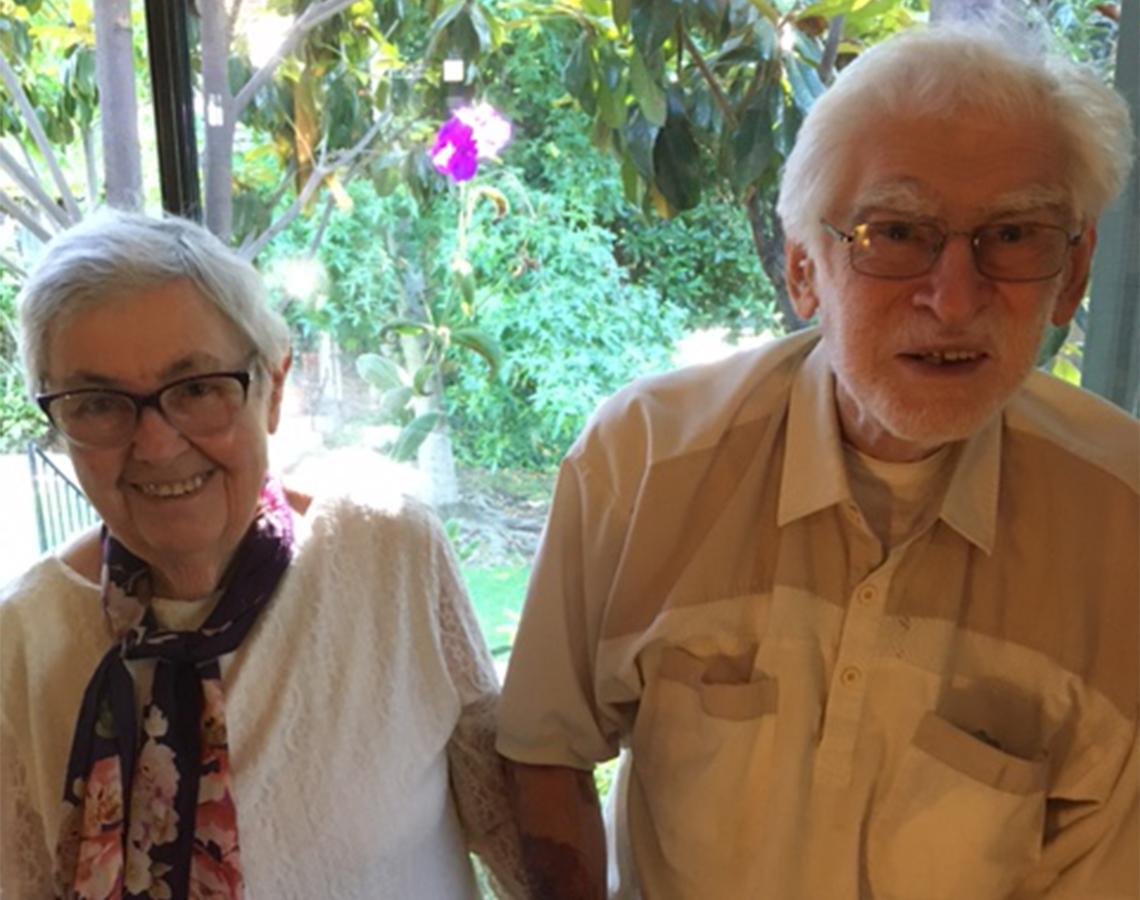 Berta y Yasha Sklansky (padres de Michail Sklansky).