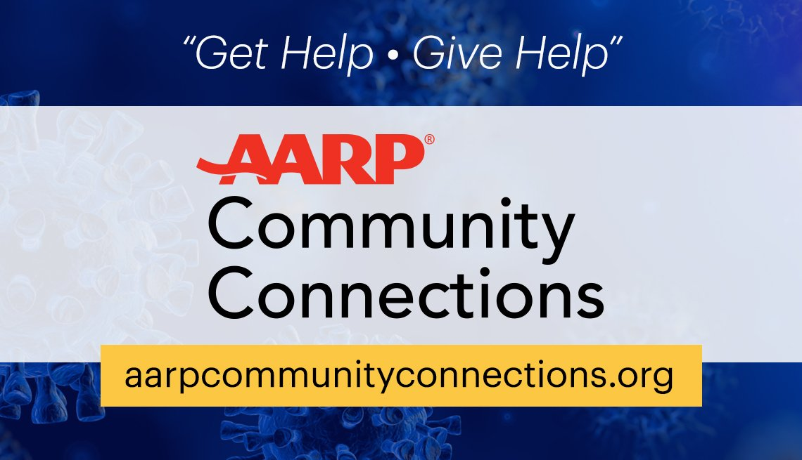 get help and give help is the tagline for a new community connections a a r p website at a a r p community connections dot org