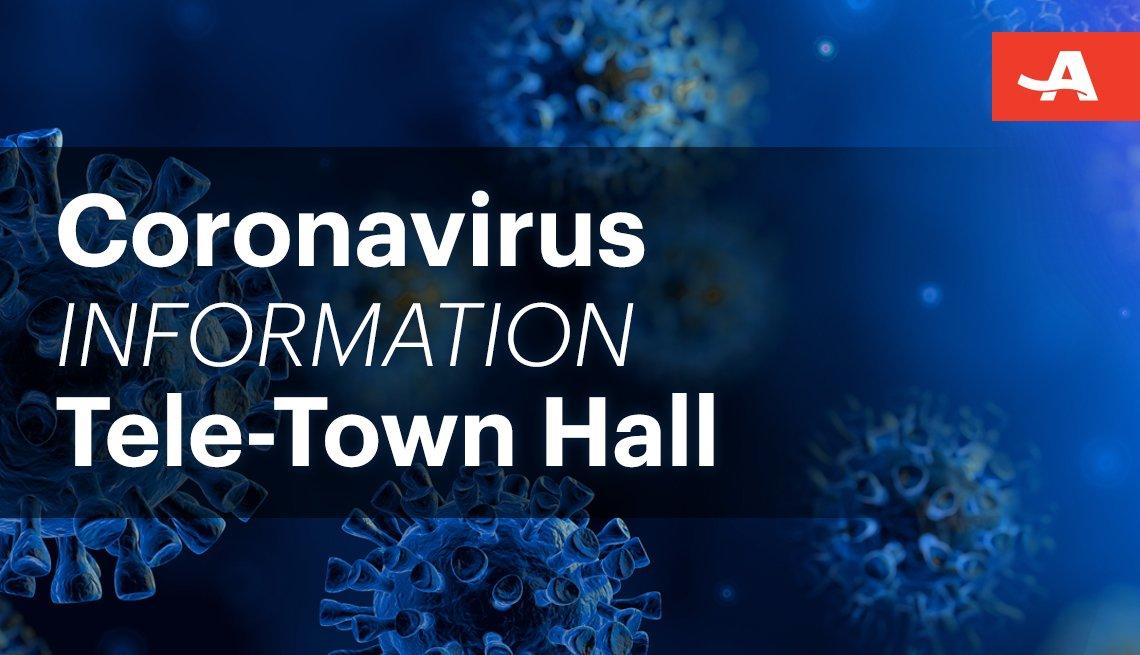coronavirus information tele town hall