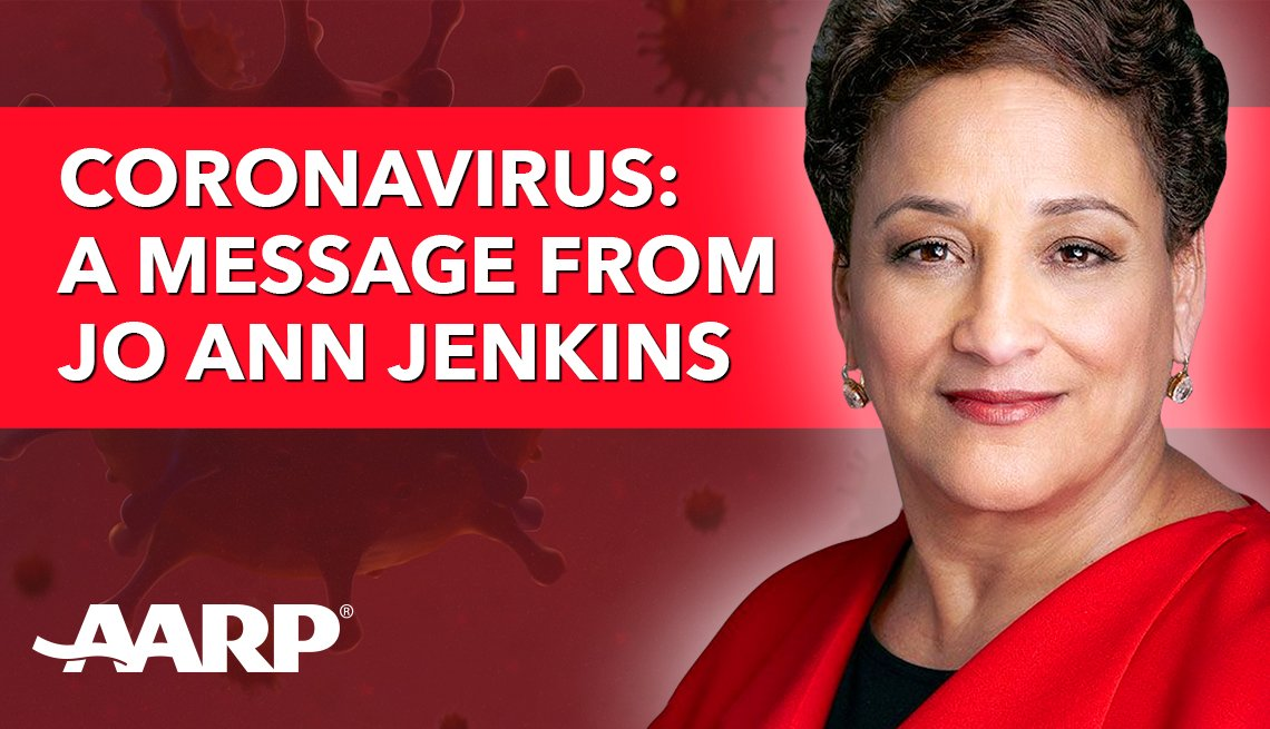a message from jo ann jenkins on coronavirus