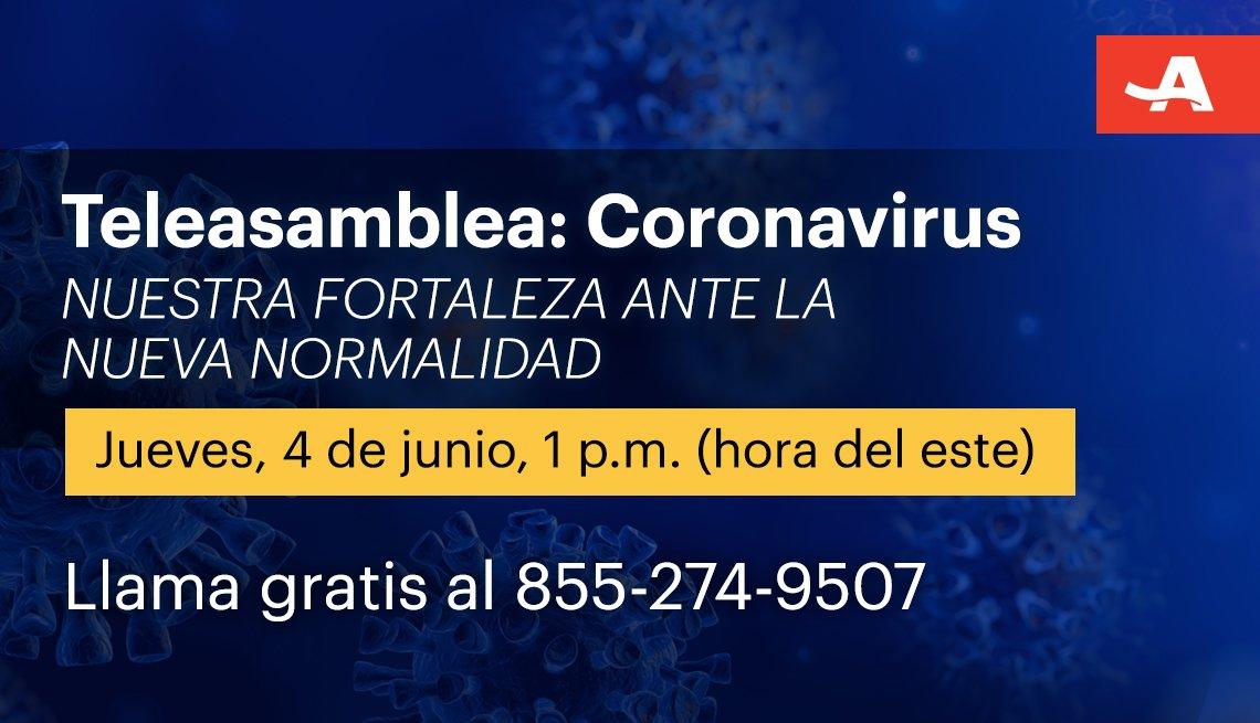 Teleasamblea sobre el coronavirus jueves 4 de junio