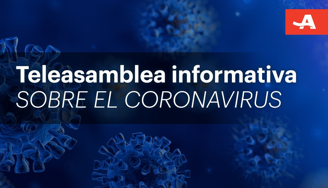Teleasamblea sobre el coronavirus