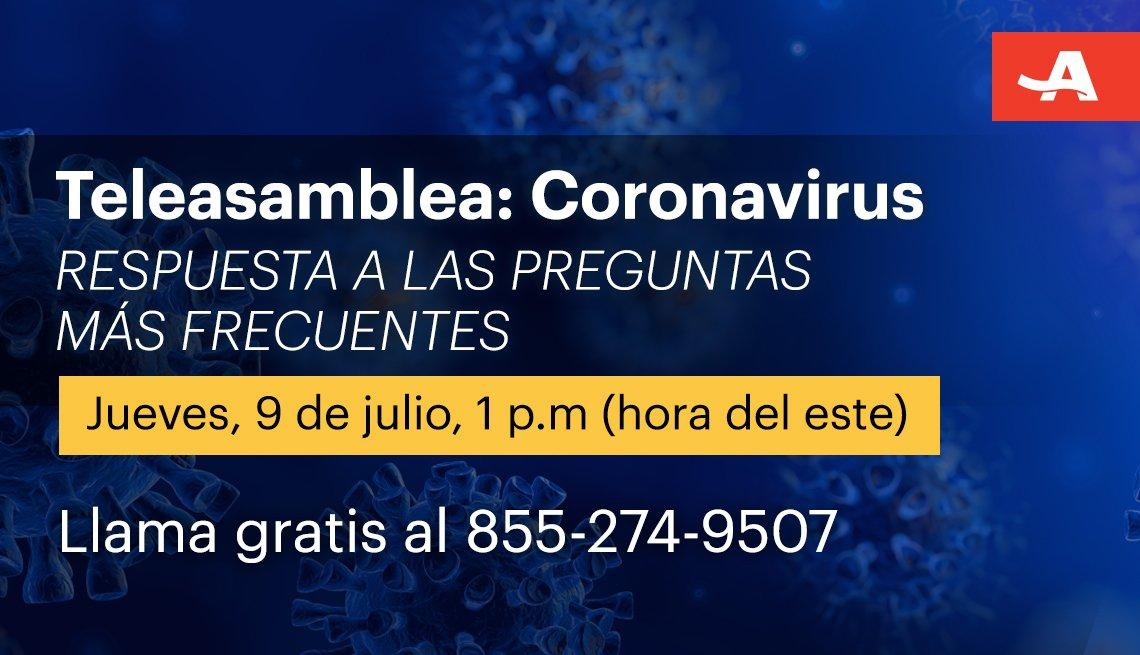 Teleasamblea sobre el coronavirus jueves 9 de julio